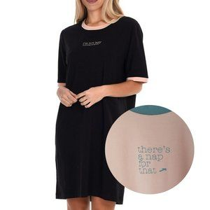 Paper Label Toni Graphic Sleep Pink Blue Shirt SM